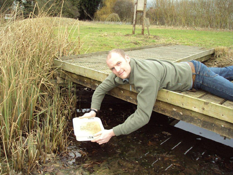 Nantwich man Dr Luke Tilley will head this year's National Insect Week