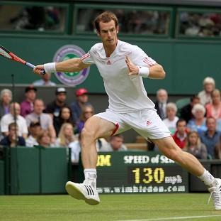 Andy Murray dropped just six games in his straight-sets victory