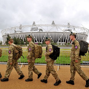 The Government has decided to deploy an additional 1,200 troops at the Olympics