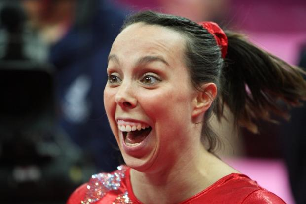 Crewe Guardian: Beth Tweddle. Pic by Julian Andrews/NOPP
