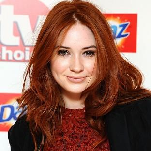 Karen Gillan plays Doctor Who's pal Amy Pond