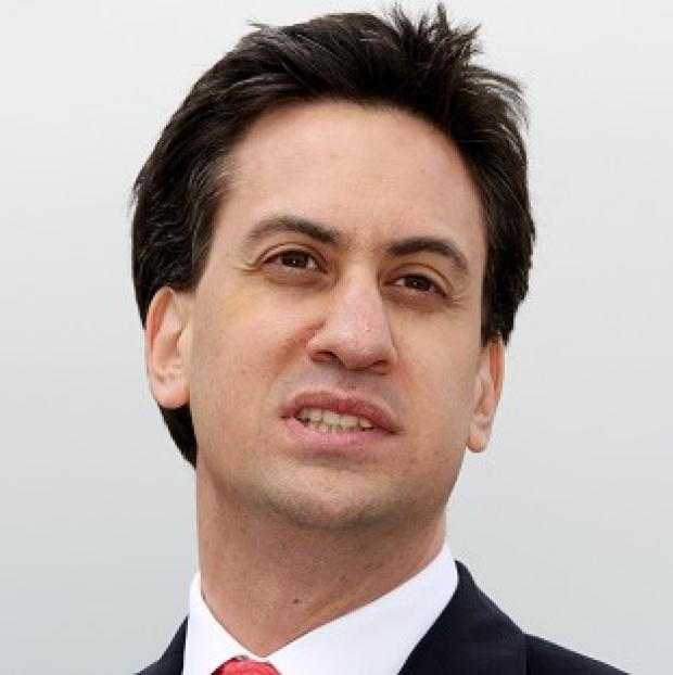 Labour leader Ed Miliband has called for investment in a low carbon economy to help kick start growth