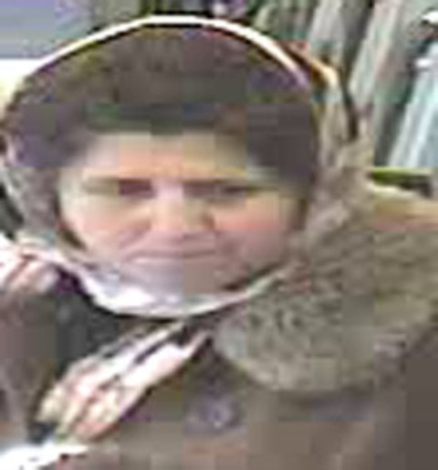 Police want to speak to this woman in connection to the incident