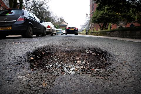 Crewe Guardian: Cllr Rod Fletcher has questioned Cheshire East Council's commitment to repairing potholes throughout the borough.