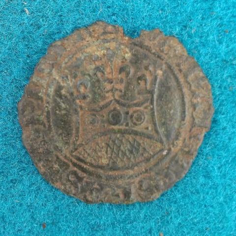 A coin thought to date to the reign of James VI