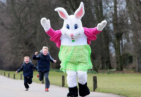 Bunny to put in appearance at Crewe market Easter events
