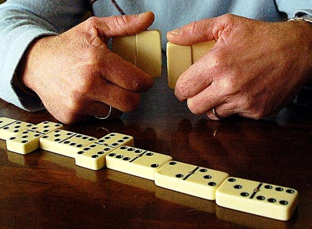 Crewe Open League dominoes battle remains poised