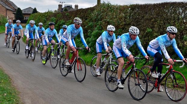 Crewe Guardian: Each member of the Vision Racing team has been through a fitness assessment with a senior coach from the Association of British Cycling Coaches and has their own training programme