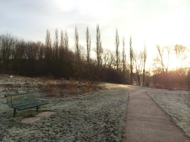 Readers Picture: Winter on the Wonderful Wistaston path