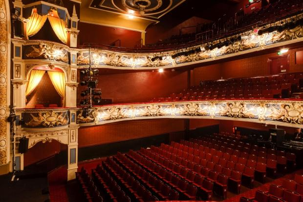 One of Johnathan's Google images of Crewe Lyceum Theatre