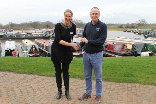 Crewe Guardian: Marina raises cash for St Luke's