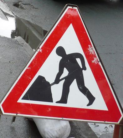 Crewe road closed for patching work