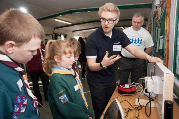 Scouts get safety lessons from National Grid experts
