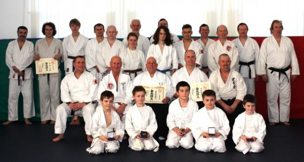 Top instructors visit Crewe martial arts group,