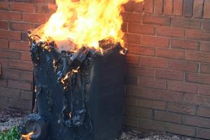 Vigilance urged after Crewe wheelie bin arson attacks