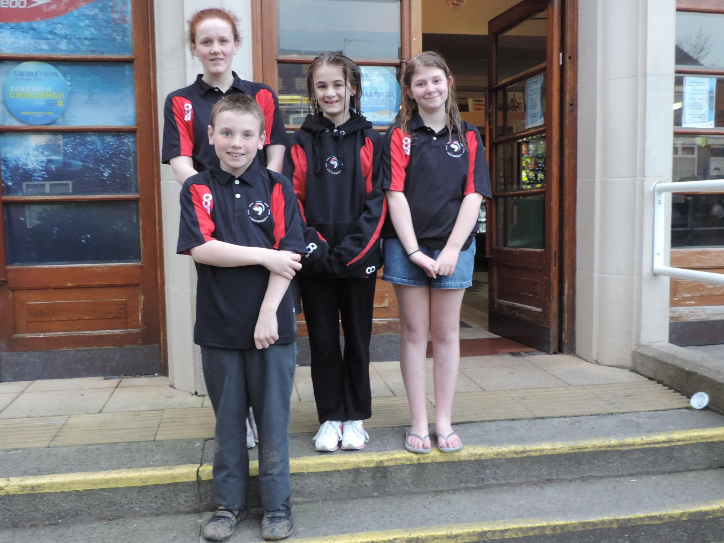 Youngsters perform well in county championships