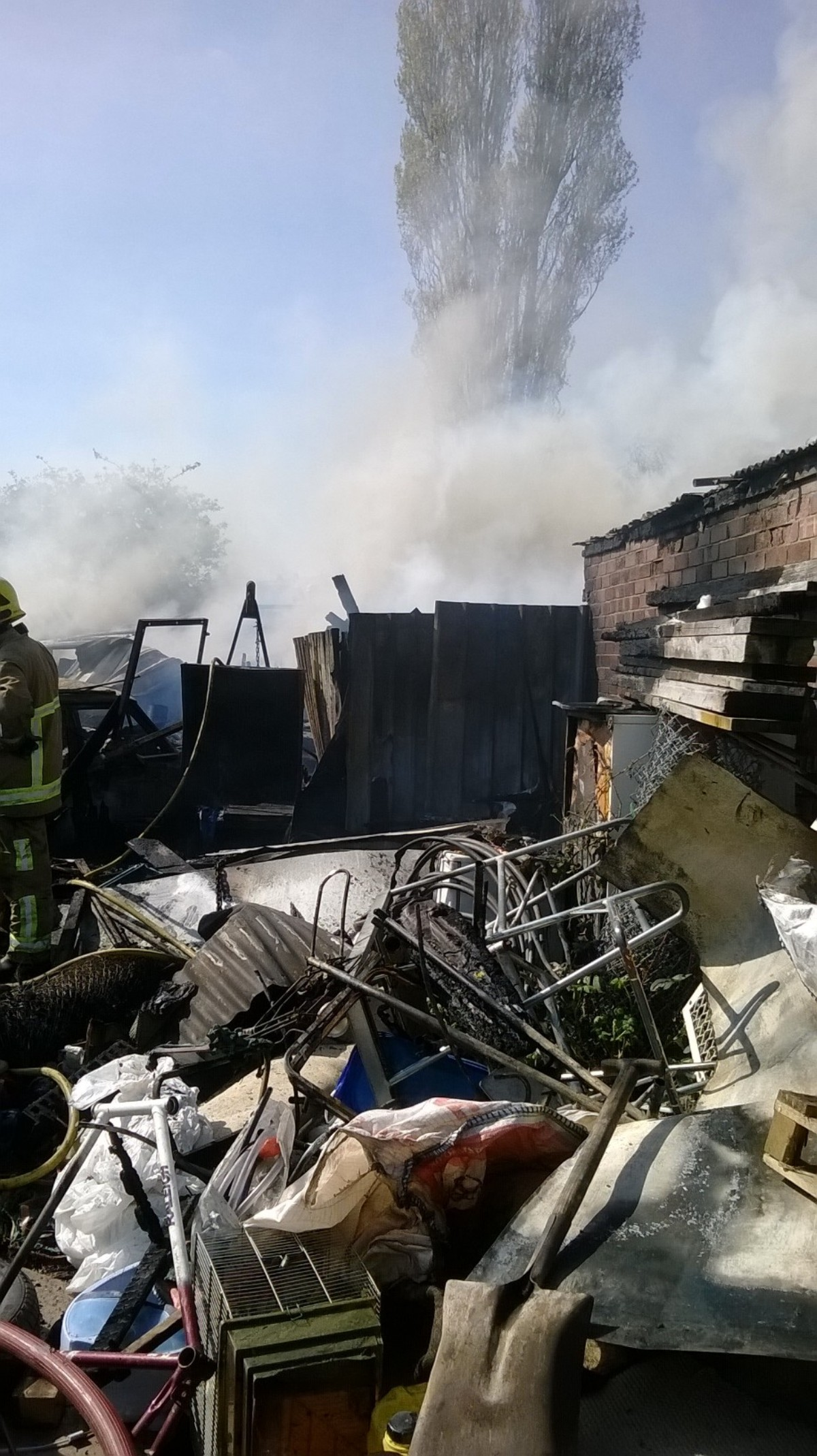 Police and fire service investigating large Crewe fire cause