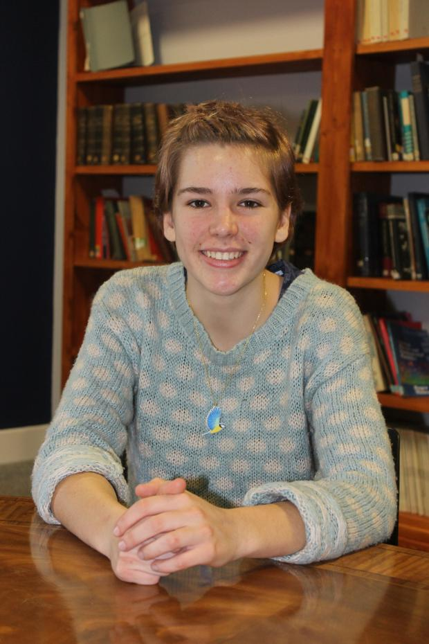 Crewe Guardian: Louise Baddeley, 18, was one of the Science and Engineering competition finalists at Big Bang