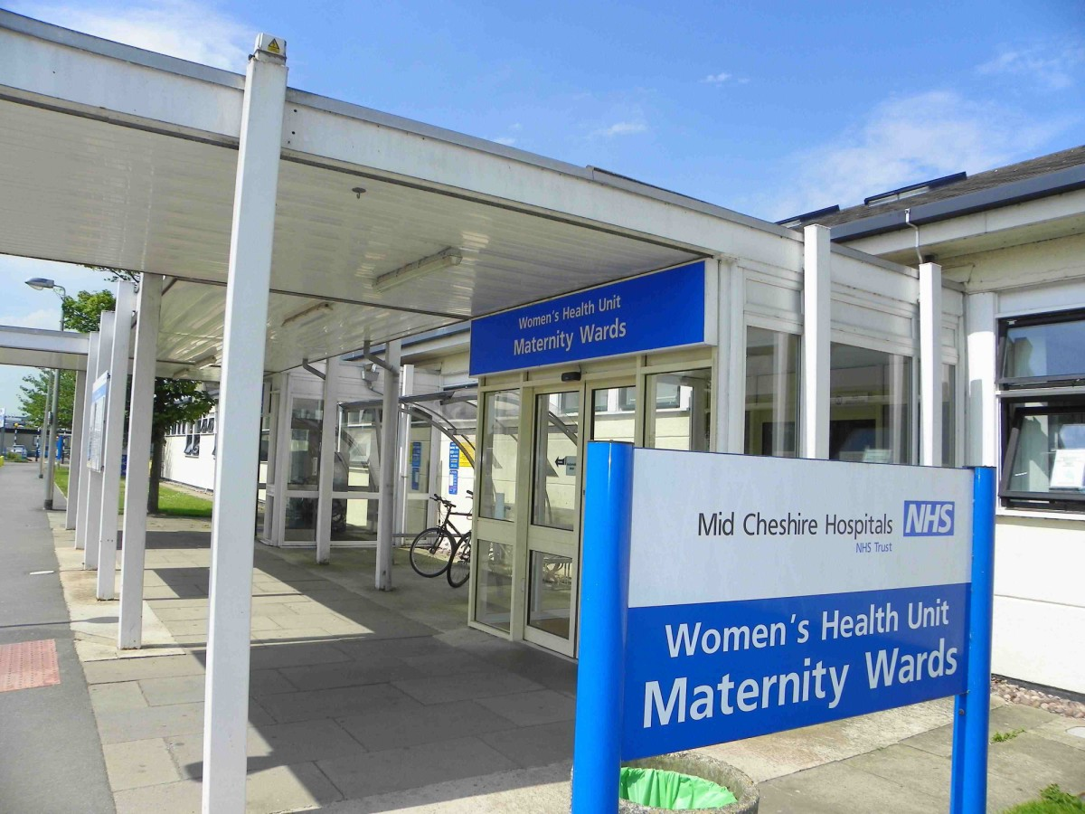 Crewe Leighton Hospital hailed for 'meteoric' maternity achievement
