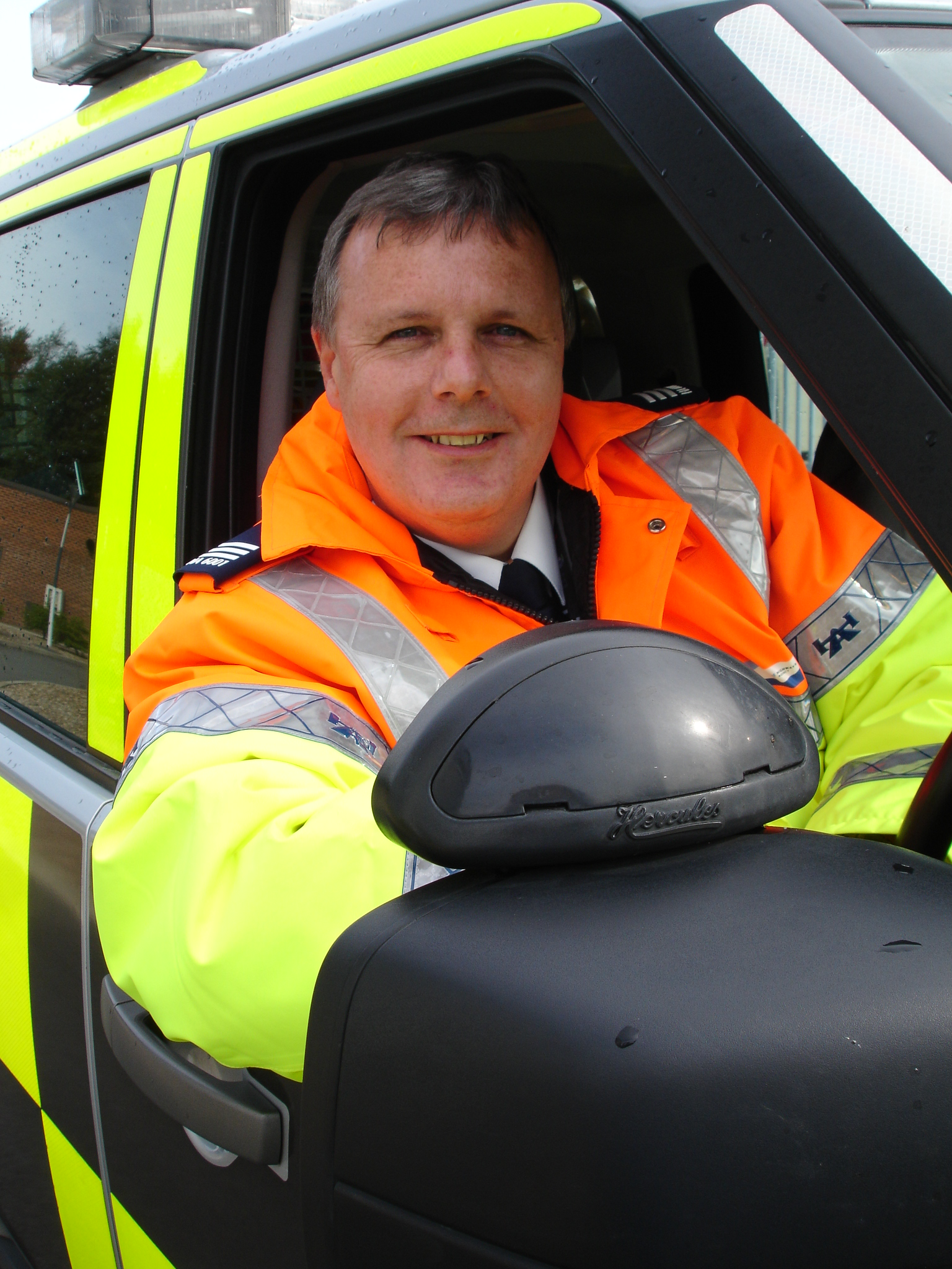 John McTaggert, from the Highways Agency
