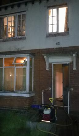 Man rescued from Crewe house fire