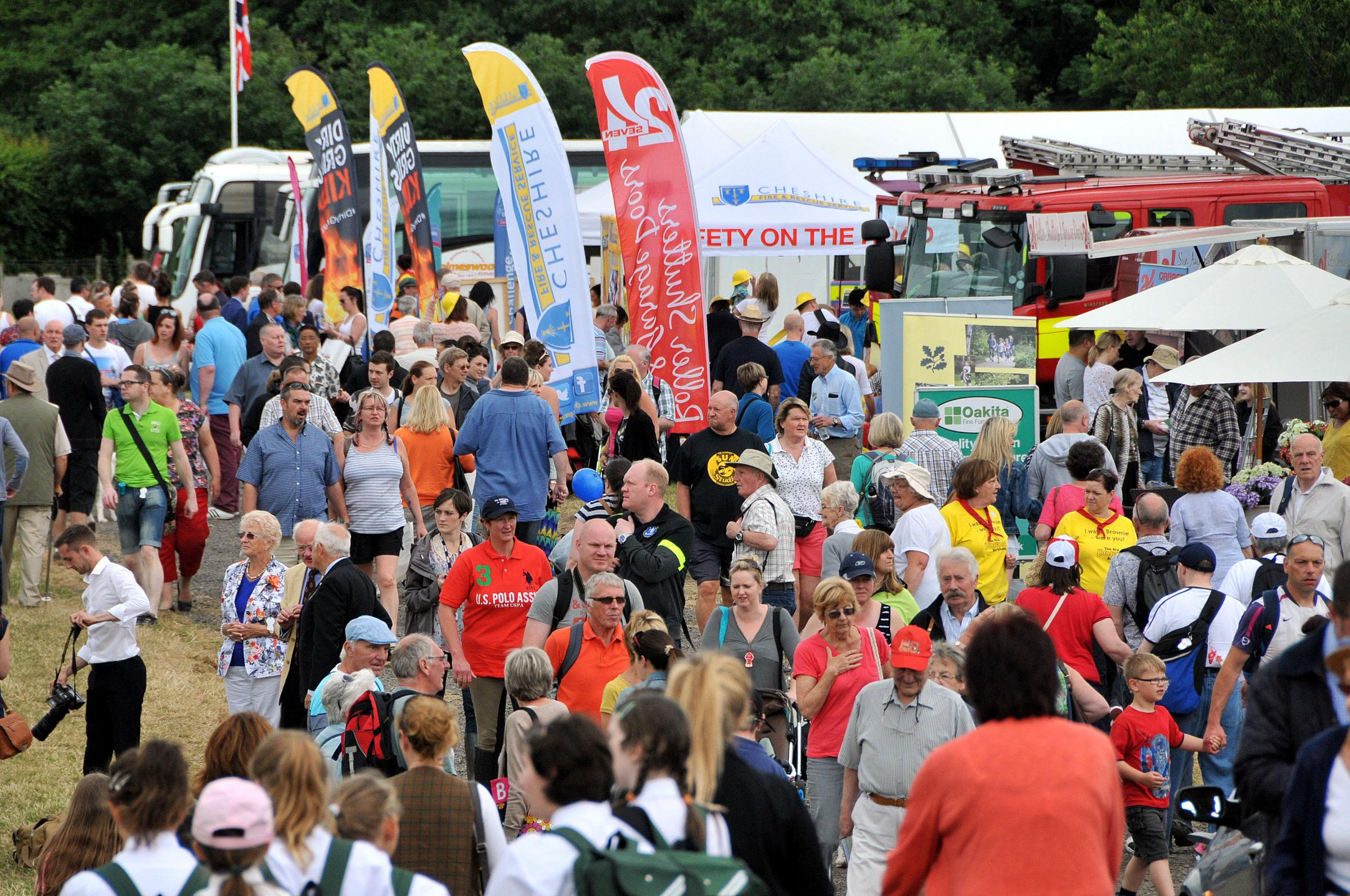 Thousands flock to Cheshire County Show 2014