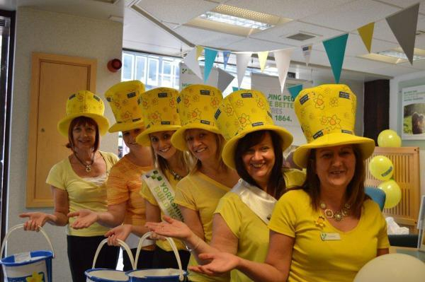 Thanks to our customers we raised cash for Marie Curie