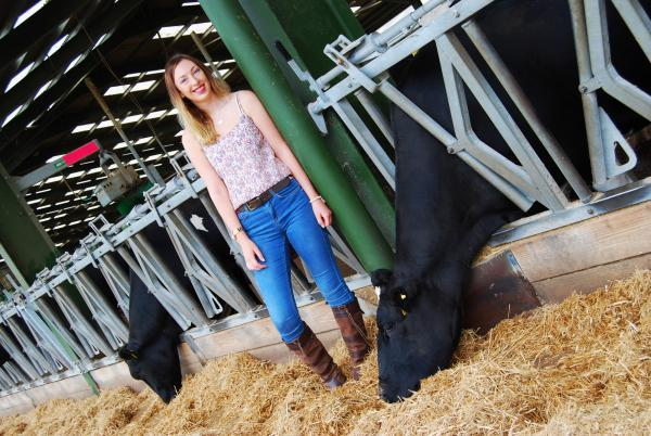 Rebecca is hoping for £10,000 grant to boost career