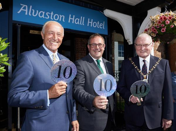 Alvaston Hall's £12.5 million makeover gets a perfect 10 from Len.