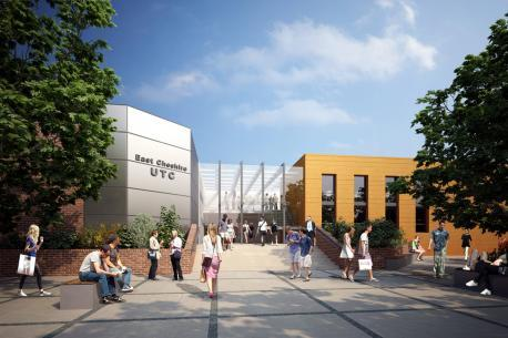 An artist's impression of the new Crewe UTC