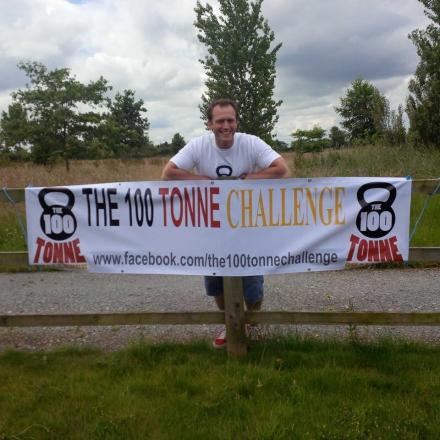 Bruce Harrison is gearing up for the 100 Tonne Challenge this weekend