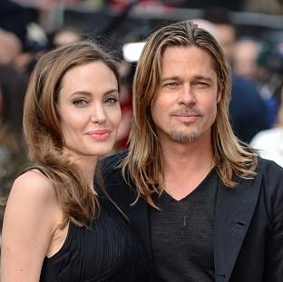 Angelina Jolie and Brad Pitt have tied the