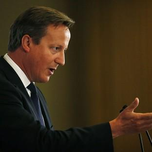 Prime Minister David Cameron will urge fellow European leaders to ratchet up the pressure on Russia over Ukr
