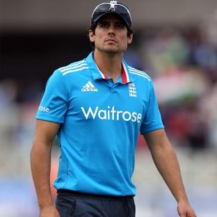 Alastair Cook's England suffered a six-wicket