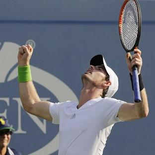 Andy Murray is happy with his form ahead of a US Open quarter-final against Novak Djokovi