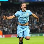 Crewe Guardian: Sergio Aguero kept Manchester City's Champions League hopes alive in midweek