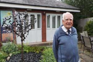 Nantwich pensioner celebrates 25 years volunteering for St Luke's Hospice