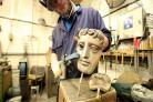 Watch how the famous Bafta mask is made