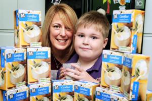 Little boy needs to eat cornflour every day to survive - but pharmacists won't dispense it