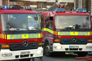 Tumble dryer causes fire at Wistaston house