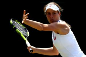 Johanna Konta claims first WTA title with Bank of the West Classic victory