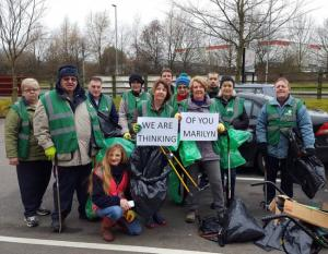Crewe Guardian: Clean Team dedicates first litter pick of the year to teammate with terminal cancer. Click here to read more