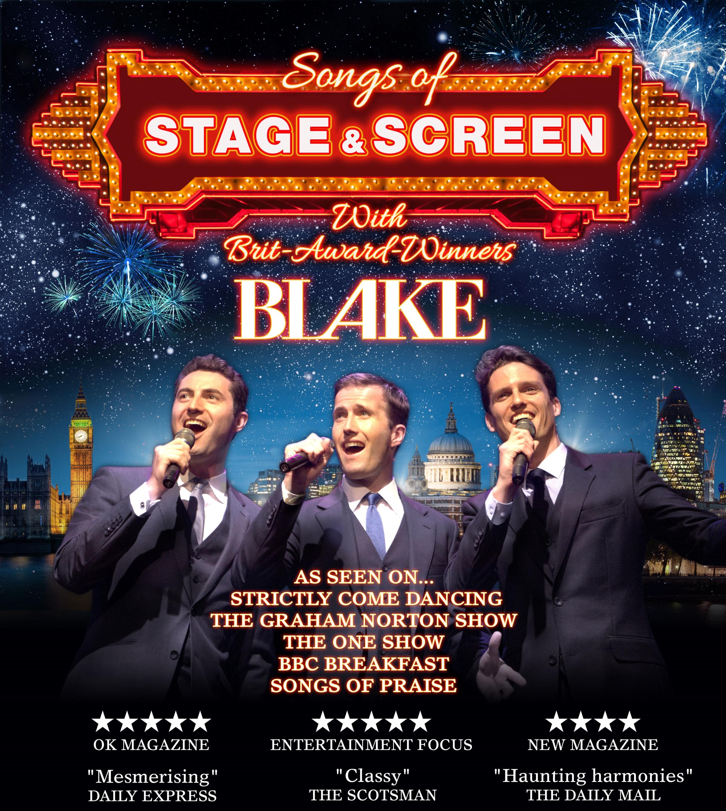 Blake - Songs of Screen And Stage