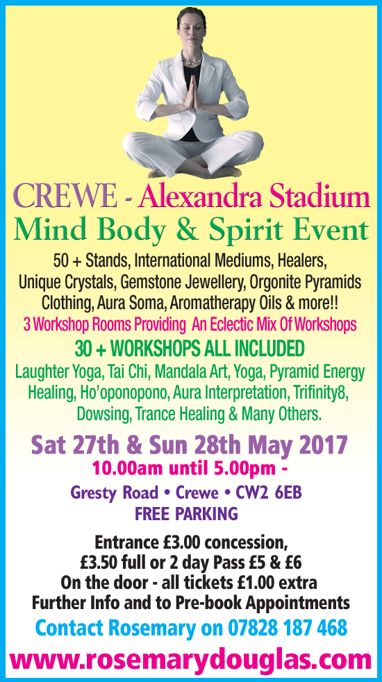 Crewe Mind Body Spirit Event