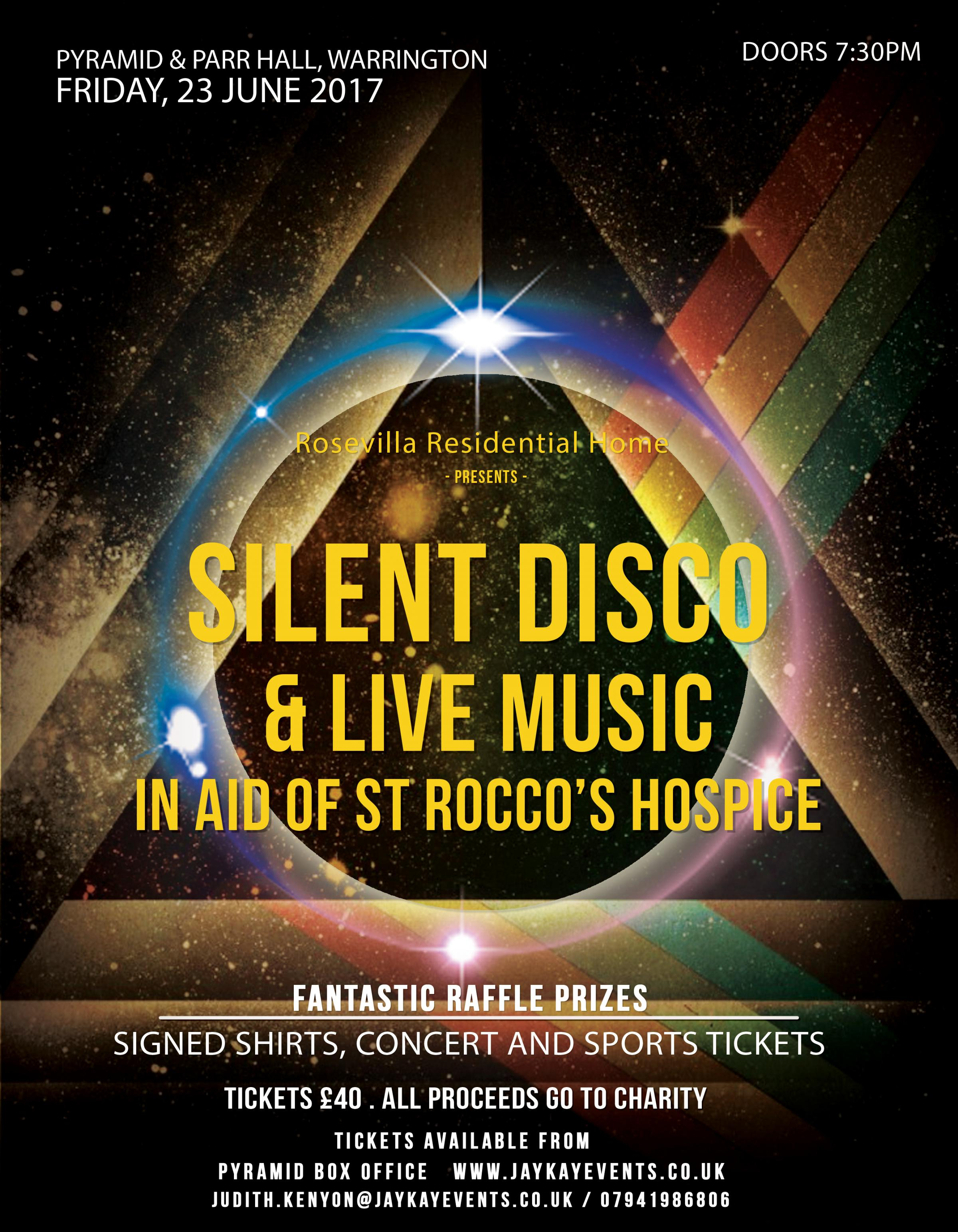 Silent Disco and Live Music.