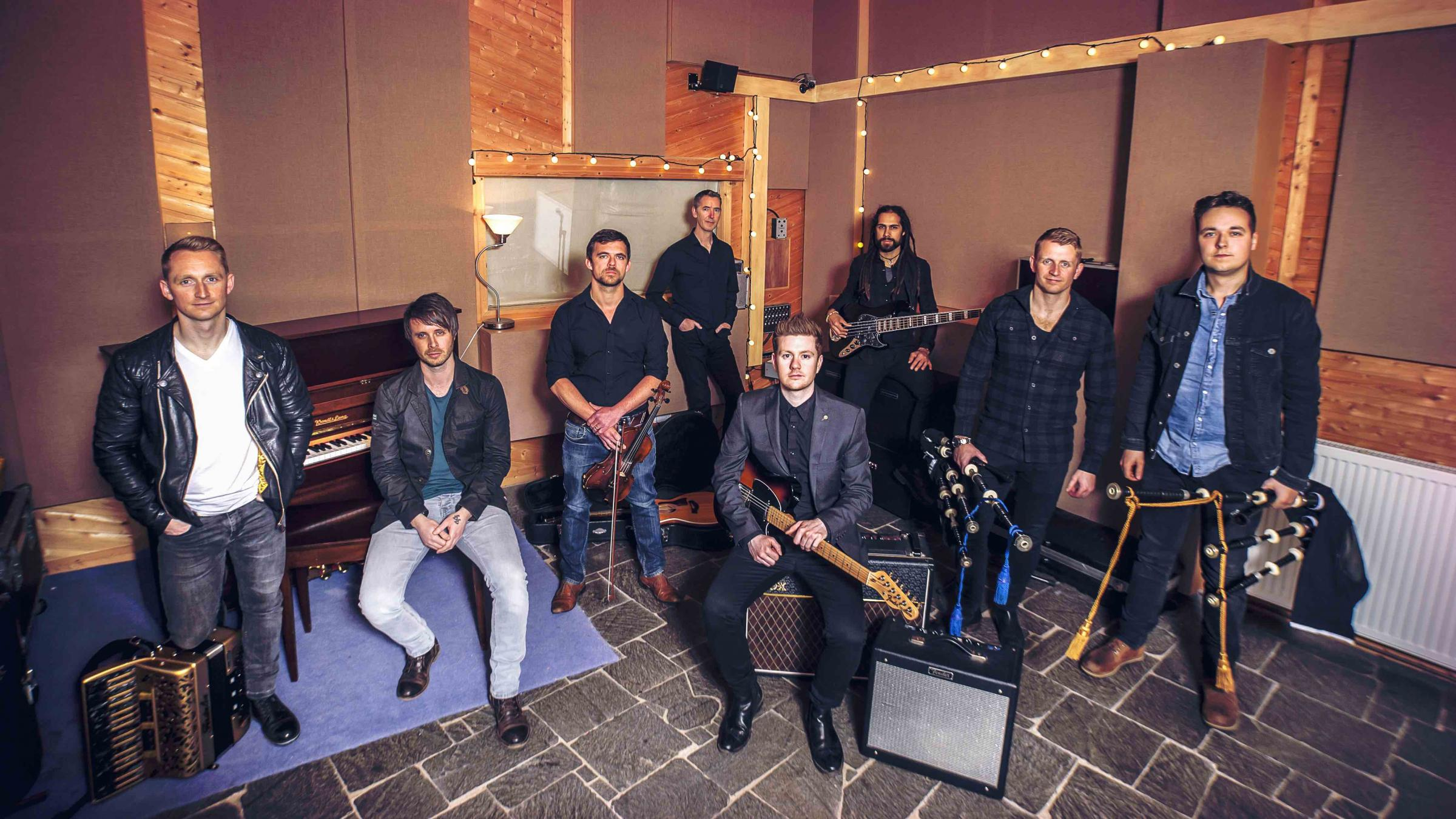 Skerryvore - The Live Forever Tour.