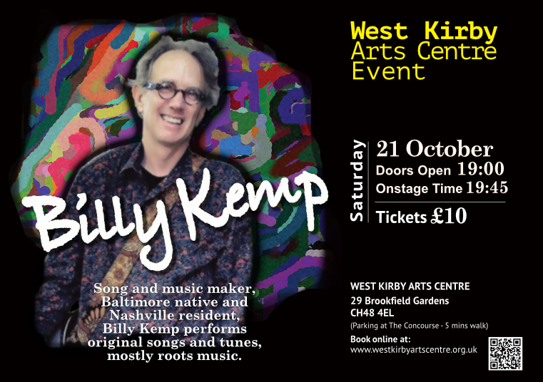Billy Kemp at  West Kirby Arts Centre