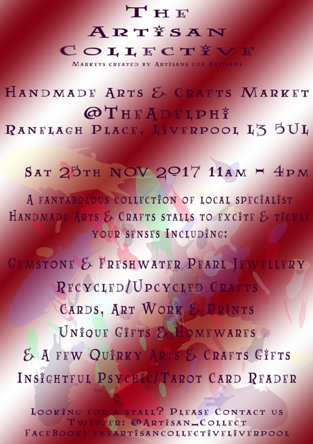 The Artisan Collective - November Handmade Crafts & Arts Market