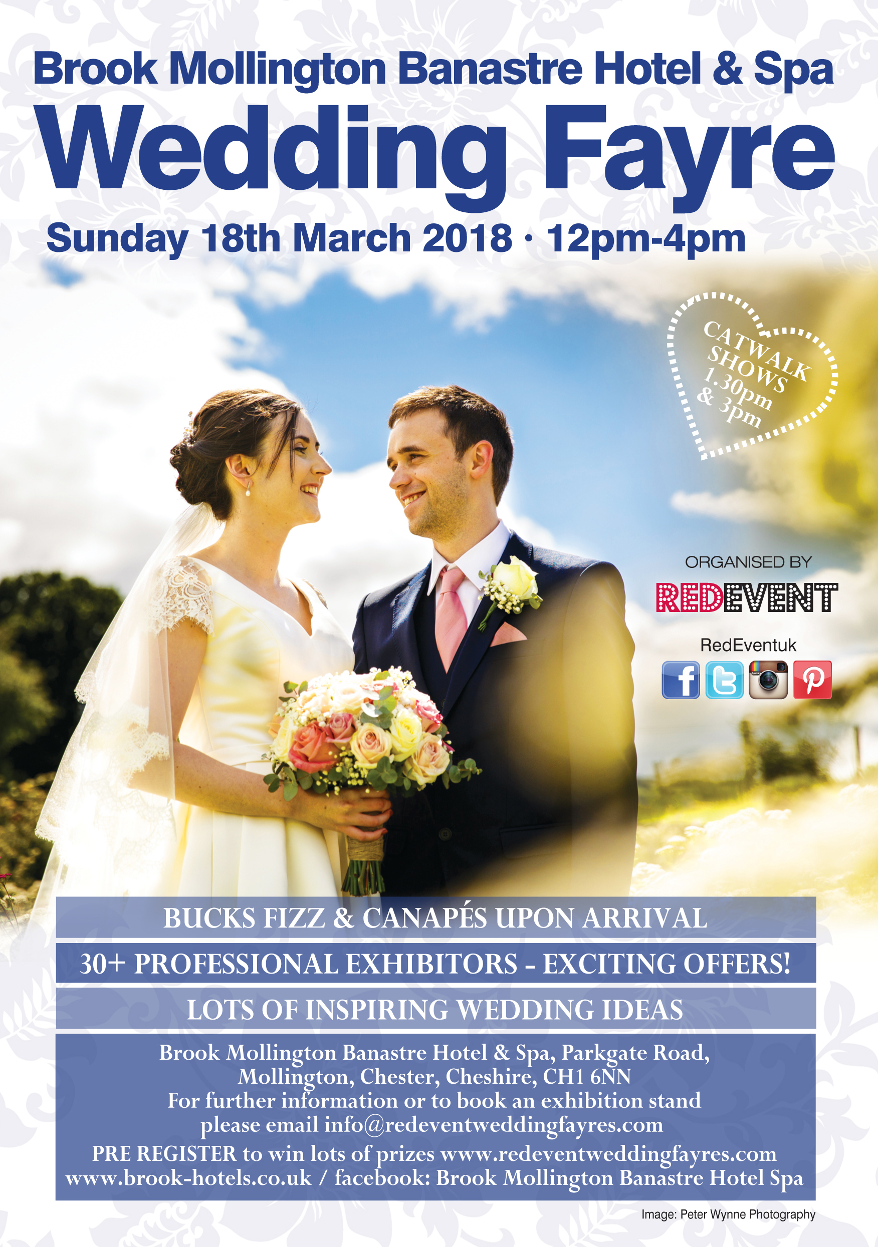 Wedding Fayre at Brook Mollington Banastre Hotel & Spa