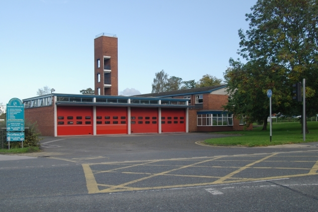 Crewe Fire Station (© Copyright Kevin Hale)